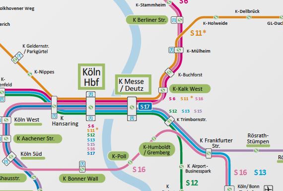 Ausbau Der S Bahn Im Knoten Köln Online Dialog S Bahn Köln
