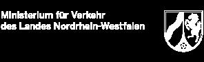 Logo Ministerium für Verkehr des Landes Nordrhein-Westfalen